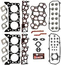 Head Gasket Set Fix Kit MLS For 98-00 Ford F-150 Mustang E-150 Econoline E-250 3.8L 3.9L 4.2L V6 VIN Codes 2 4 6 Multi-layered steel MLS