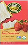 Nature's Path, Organic Toaster Pastries, Strawberry Frosted, 6 ct...