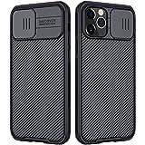 Nillkin CamShield Hülle Kompatibel mit iPhone 12 Pro Max 6,7 Zoll, Handyhülle mit Kameraschutz und...