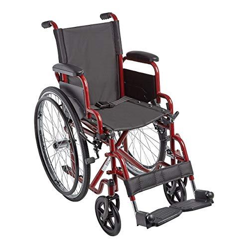 "Circle Specialty, Ziggo 14"" Seat Width Pediatric Wheelchair for Kids & Children, Lightweight, Manual Folding Wheelchair w/Safety Belt, Swing-Away Foot Support w/Straps, Desk Length Arm Rests"