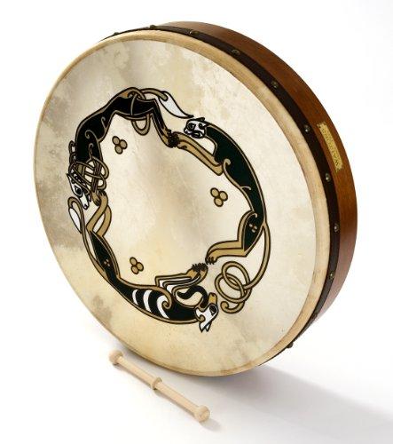 Waltons keltische Bodhran 18 Zoll/45,72 cm mit Jagd-Motiv
