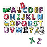 Melissa & Doug See-Inside Alphabet Peg,Multi Color