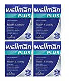 4 Units (Bulk Pack) Vitabiotics Wellman Plus Omega 3, 6 & 9 56 Tablets/Capsules