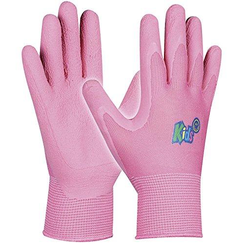 Schutzhandschuh KIDS   Gr. 5-8 Jahre   pink   Mädchen-Handschuhe   1 Paar