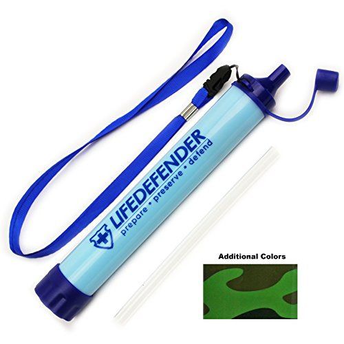Life Defender Water Filter Straw