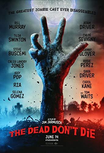 Lionbeen The Dead Dont Die Movie Poster Cartel de la Pelicula 70 X 45 cm