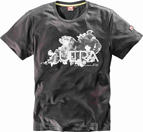 Bullstar Herren Ultra T-Shirt, Schwarz (Schwarz 100), XX-Large
