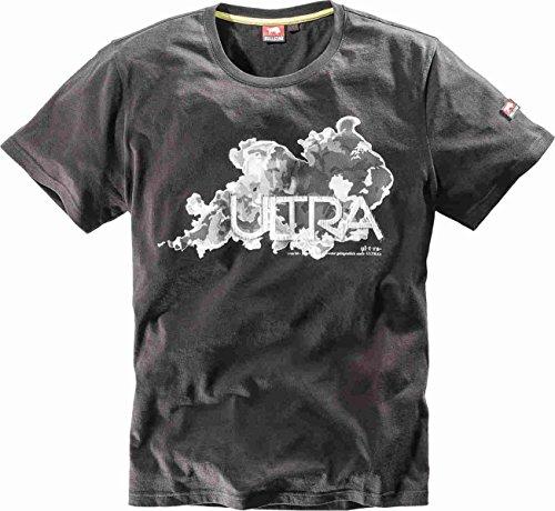 Bullstar Herren Ultra T-Shirt, Schwarz (Schwarz 100), Small