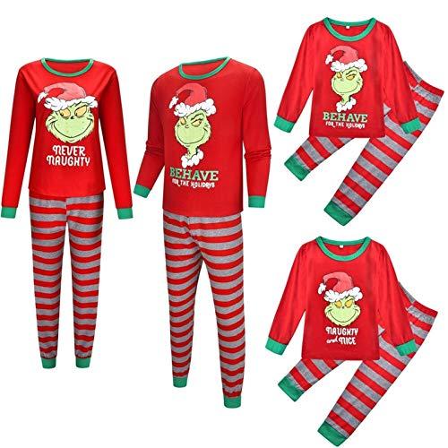 Rcsinway Herbst und Winter Neue Home Kleidung Pyjamas Set Weihnachtsmänner und...