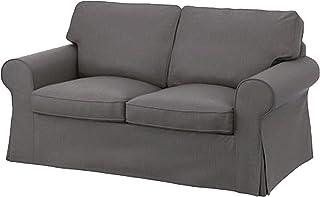 comprar comparacion Cubierta / Funda solamente! ¡El sofá no está incluido! La Funda de sofá Cama Ektorp de Dos plazas de Repuesto IKEA Ektorp ...