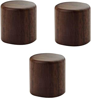 Guyker 3Pcs Guitar Maple Wooden Control Knobs for 6mm(0.24