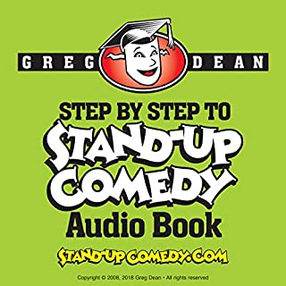 Page de couverture de Step by Step to Stand-Up Comedy