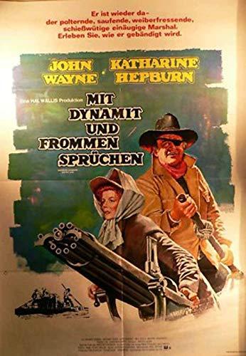 Mit Dynamit und frommen Sprüchen - Filmplakat A1 G1