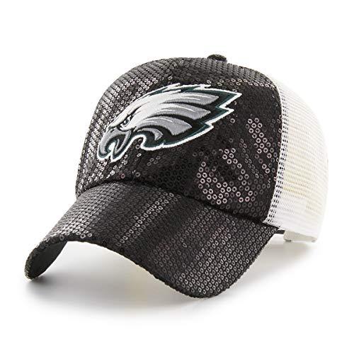 OTS NFL Philadelphia Eagles Women's Brilliance Challenger Adjustable Hat, Team Color, Women's
