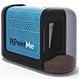 PowerMe Electric Pencil Sharpener - Battery...