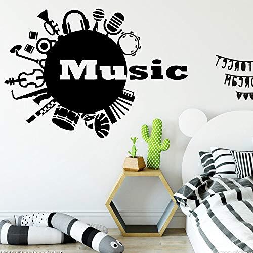 Exquisite Musik Wohnkultur Moderne Acryl Dekoration Für Baby Kinderzimmer Dekor Schlafzimmer Kinderzimmer Dekoration Silber XL 58 cm X 82 cm