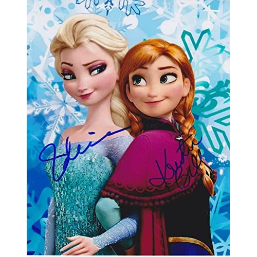 "Elsa from Disney Frozen Movie 8x10/"" reprint signed photo RP"