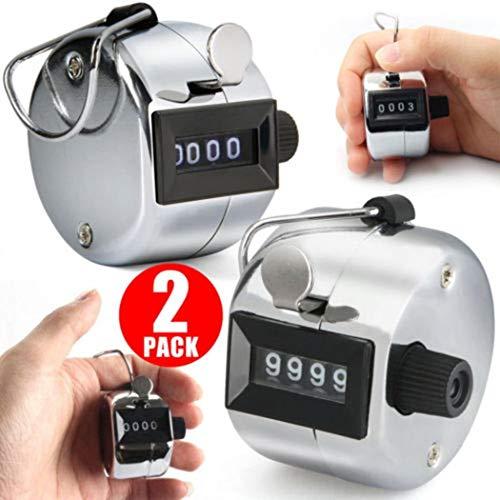 Fantiff Sport-Zähler mit 4-stelliger Anzahl Clicker-Zähler für Zählwerk Spektrofotometer-Zubehör
