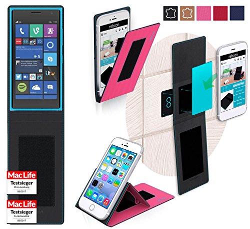 Hülle für Nokia Lumia 735 Tasche Cover Hülle Bumper   Pink   Testsieger