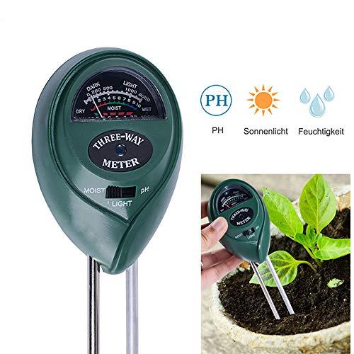 Find Discount LKSDD Soil Tester,3 in 1 Soil Test Instrument PH Tester,Flowers Planting Soil Hygromet...
