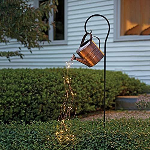 LUDAXUE Stars Shower Garden Art Light Firefly Bunch Lights Decoration Outdoor Gardening Lawn Lamp Solar Led Light Led Light With Timer Vine Solar Watering Can Lights