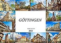 Goettingen Impressionen (Tischkalender 2022 DIN A5 quer): Zwoelf einmalige Bilder der Stadt Goettingen (Monatskalender, 14 Seiten )