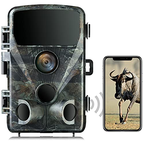 """TOGUARD Trail Camera 4K Lite - 24MP Game Camera Hunting Wildlife WiFi Bluetooth with Night Vision Motion Activated Hunting Camera 120° Wildlife Deer Monitoring 2.4""""LCD Screen IP66 Waterproof"""