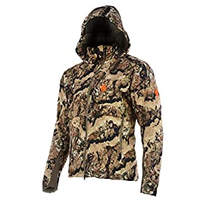 Nomad Mens Scrape Jacket Windwater Resistant Insulated Safety Strap Compatible