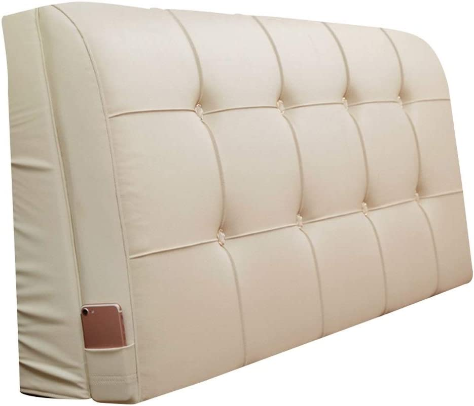 ZWJ-Bed San Antonio Mall backrest Cushion for Headboard trend rank Faux Leather Hig Material