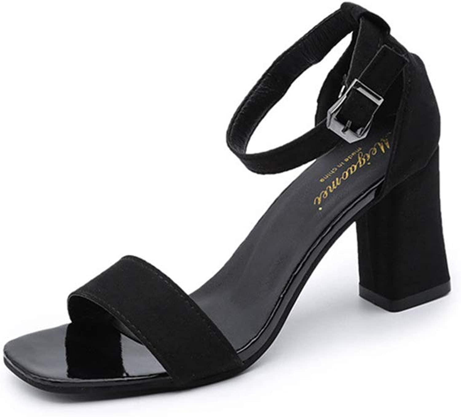 YYZHAO Womens Lolita Strappy Heeled Sandal