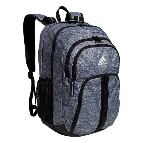 adidas Prime 6 Backpack, Jersey Onix Grey/Black/White, One Size
