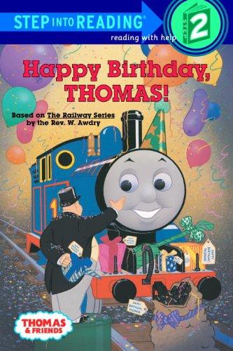 Happy Birthday, Thomas! (Turtleback School & Library Binding Edition) (Step Into Reading: A Step 1 Book)