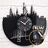 A Laser Cut Vinyl Clock of New York and More