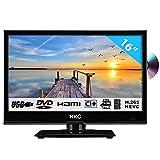 HKC 16M4C: Téléviseur LED de 39,6 cm (16 Pouces) avec Lecteur DVD (HD-Ready 1.366 x...