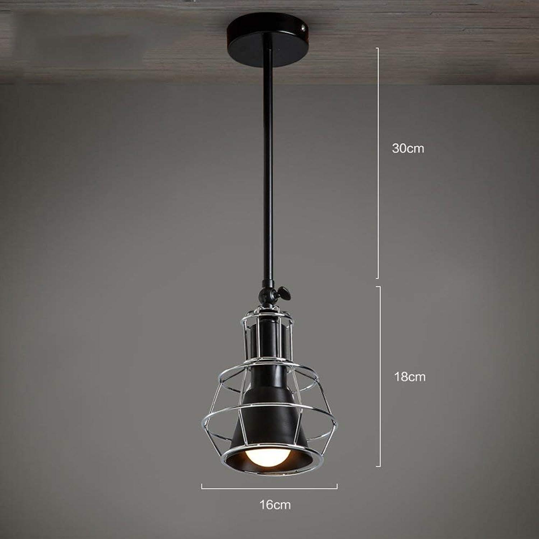 Hai Ying  American Retro Village Industrial Wind kann die Lampe drehen Eisen Deckenleuchten Studio Studio Bekleidungsgeschft Kreative Kronleuchter (Farbe optional) (Farbe  A)