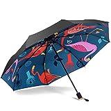XJYJF Paraguas Plegable Mini Sun Soplella for Mujer Hombres Viajes Umbrella 210T UPF 50 Diseño a Prueba de Viento Moda Anti-UV Paraguas Paraguas ,Proteccion Solar (Color : Green, Size : One Size)