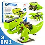 Toy Gifts for 8-11 Year Old Kids, Solar Robot Dinosaur Toys for 9-12