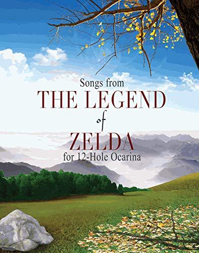 Zelda Songbuch für 6 Loch, 7 Loch, 12 Loch, Doppel- und 2 Okarinas für 12 Loch Okarina