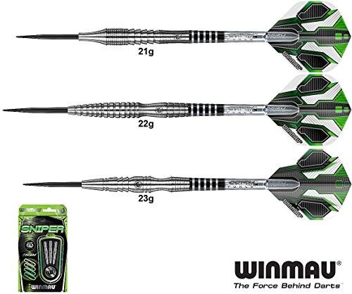 WINMAU Sniper Darts 90% Tungsten Steeldarts 23g