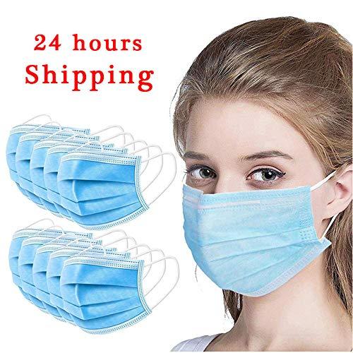 Schutz, Einweg, hochwertig, Anti-Staub, Anti-Umweltverschmutzung, Blau, 3-lagig 10 P
