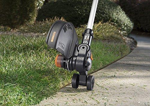 "WORX WG170 GT Revolution 20V 12"" Grass Trimmer/Edger/Mini-Mower 2 Batteries & Charger Included, Black and Orange"