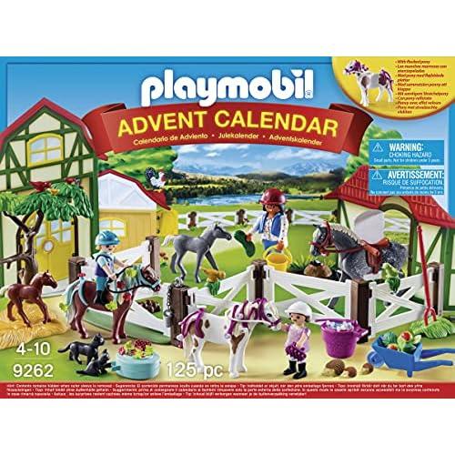Playmobil- Calendario dell'Avvento Maneggio, dai 4 Anni, 9262