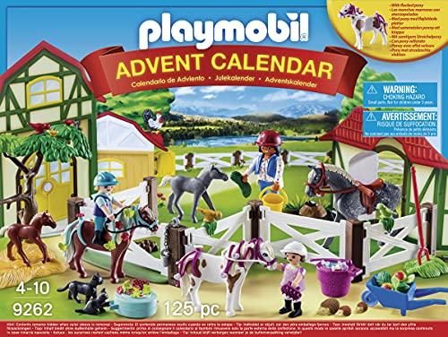 """Playmobil - Calendrier de l'Avent """"Centre Équestre"""" - 9262"""