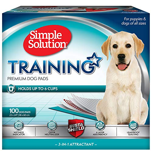 Simple Solution Dog Training Pads, Count of 100, 100 CT