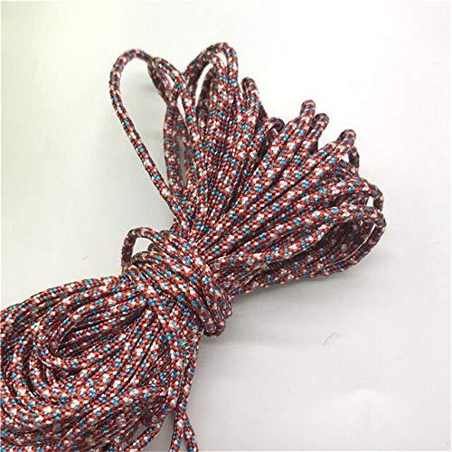 10 yardas 2mm cordón de poliéster cordón de joyería para joyería pulseras