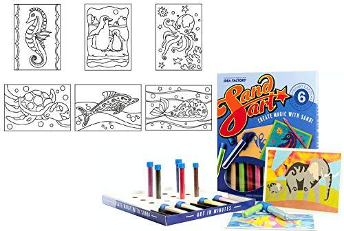 IDEA FACTORY Six Pack - SandArt - SandKunst - Sandbilder - Sandkarten (SP08)