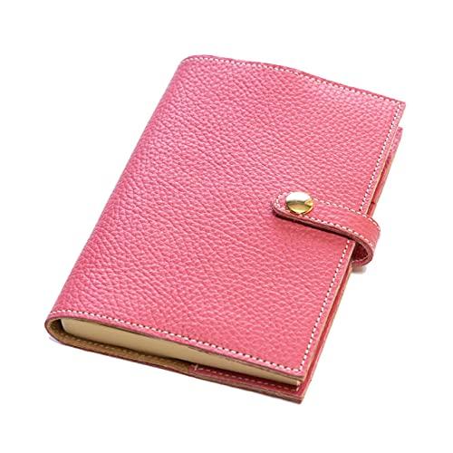 maf pinto (マフ ピント) 手帳カバー&ブックカバー レザー 本革 日本製 (55.ピンク, A6サイズ (文庫サイズ) ADRIA LINE)