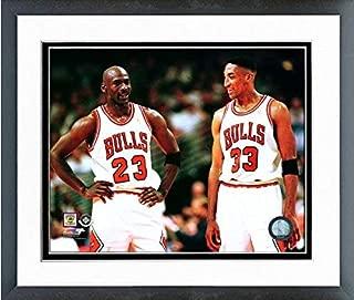 Michael Jordan & Scottie Pippen Chicago Bulls NBA Photo (Size: 12.5