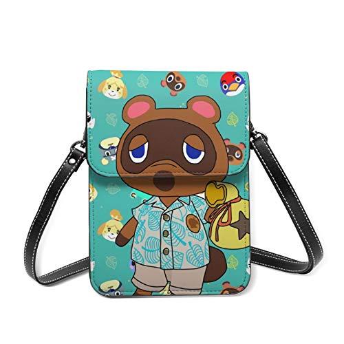 Animal Crossing Pequeña Capacidad Crossbody Bolsa Ligero Teléfono Celular Cartera Hombro Bolsos De Mano Para Mujeres Chica Trabajando Mantener Efectivo