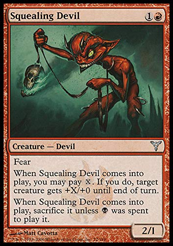 Magic: the Gathering - Squealing Devil - Dissension